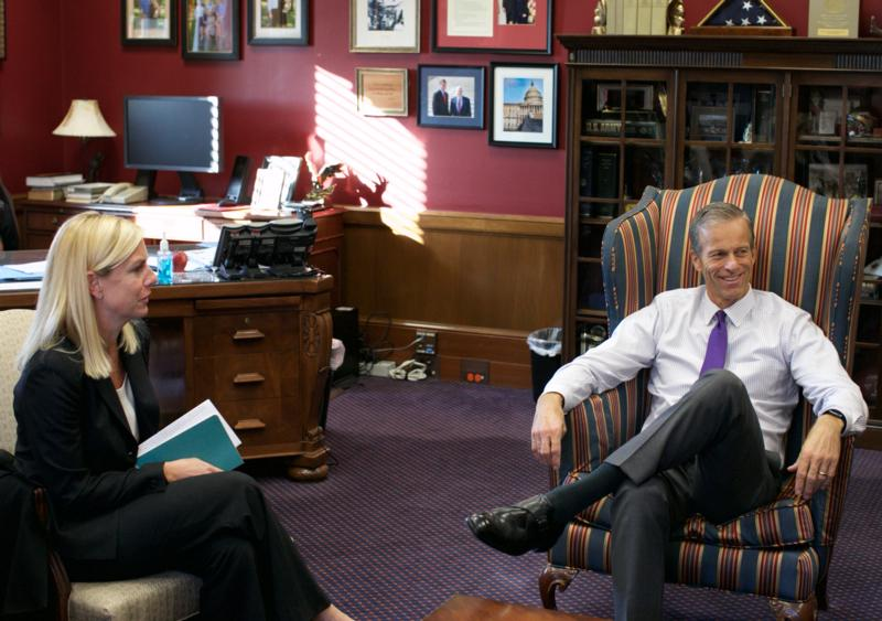 Thune Talks Transportation Cyber And Border Security